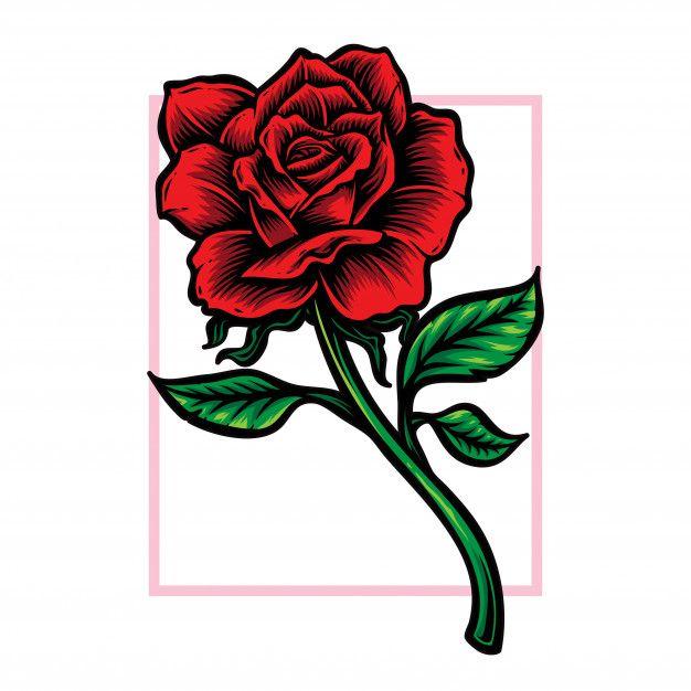 rosenstamm blume vektor logo rose stem vector flower outline pixabay vektorgrafiken adobe vektorgrafik erstellen