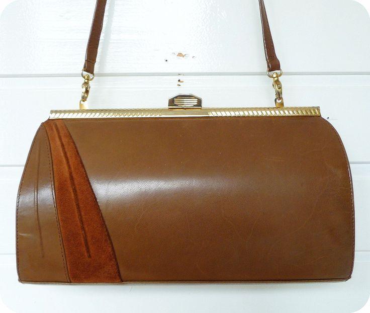 Vintage MADI Tasche Schultertasche Bag Handtasche Abendtasche LEDER Clutch 80er   Kleidung & Accessoires, Damentaschen   eBay!