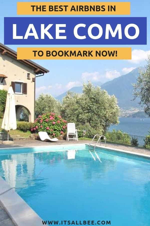 Top 15 Lake Como Airbnb Lake View Rentals In Italy Italy Travel