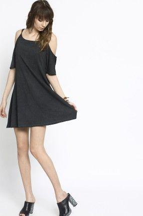 Medicine - Sukienka Decadent kolor czarny RS16-SUD801 - oficjalny sklep MEDICINE online