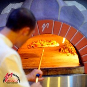 Bel Fiore Pizzeria – Dural, NSW Australia  GR140 professional wood fired oven, made in Italy by Valoriani, supplied by Vesuvio.   The colourful and playful theme of Bel Fiore Pizzeria is not only reserved for the dining area. The painted petals on the wood fired oven adds color to the kitchen and has made the oven a prominent feature in both the restaurant and its logo.