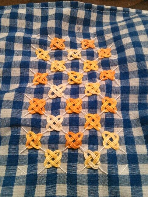 Chicken Scratch, Broderie Suisse, Swiss embroidery, Bordado espanol, Stof veranderen.