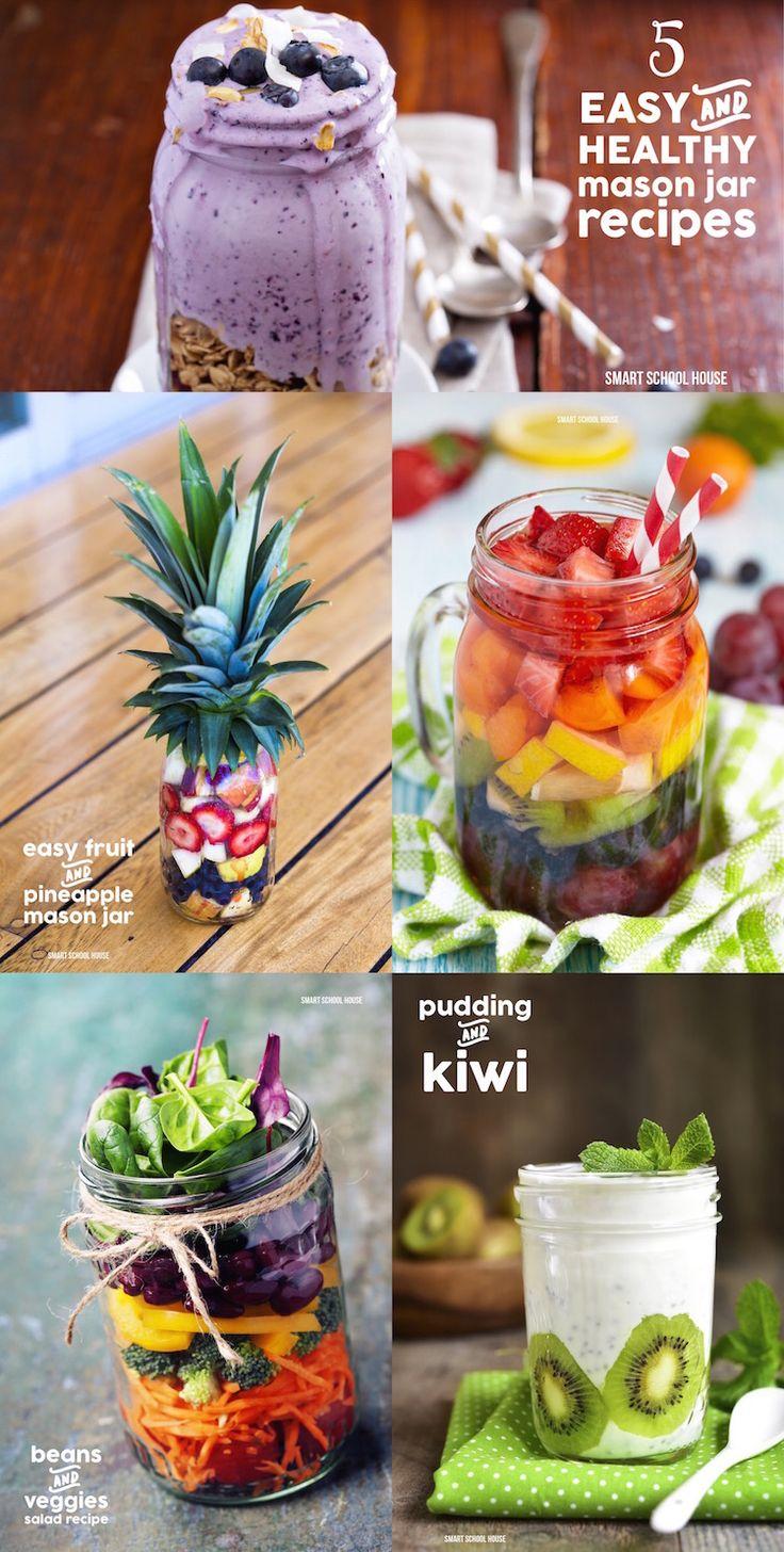 Healthy Children: Healthy Mason Jar Recipe Ideas