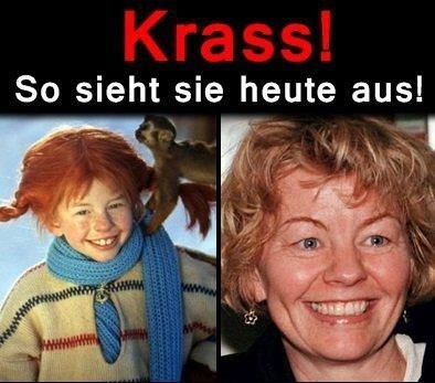 Schauspielerin von Pippi Langstrumpf