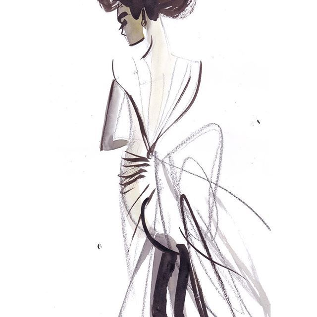 SpringBride Carolina Herrera #carolinaherrera #fashionshow #bridal #bride #brides #marriage #bigwedding #wedding #weddingdress #weddingday #fashionart #art #artwork #artsy #artist #fashionillustration #fashionillustrator #fashionlover #fashiondrawing #painting #paint #ink #fashion #fashionista #fashionblogger #fashiondesigner #design #glam #luxury @voguegermany
