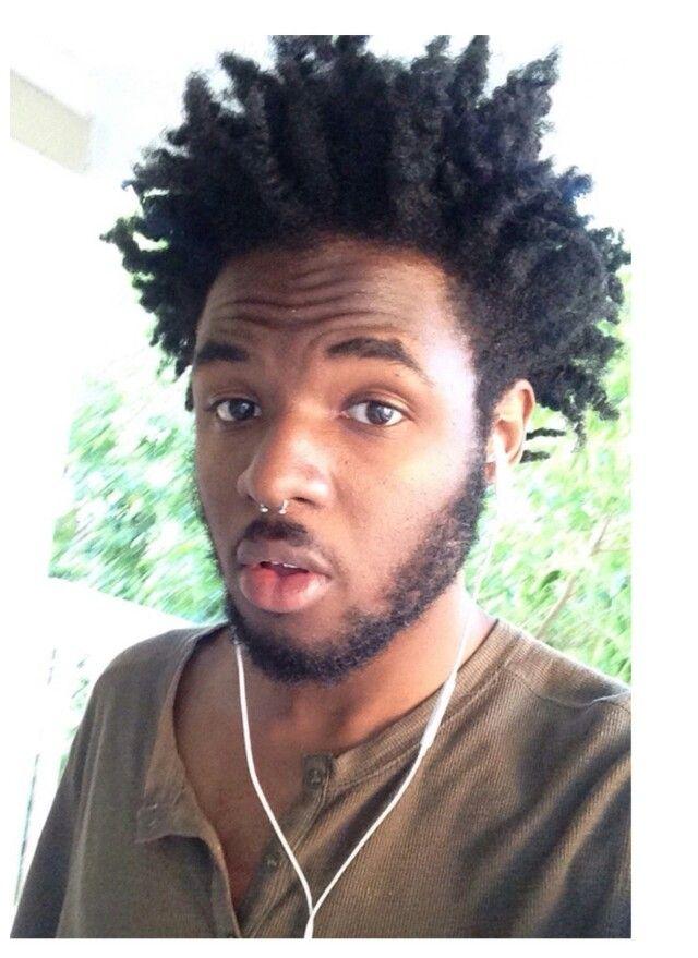 Beautiful Texture Black Men Natural Hair In 2019