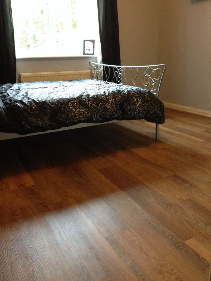 A very happy customer after having @Karndean Designflooring fitted throughout their bungalow