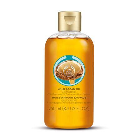 Un Gel de ducha sin jabón que limpia y cuida tu piel con el deliciosa aroma de Argán.