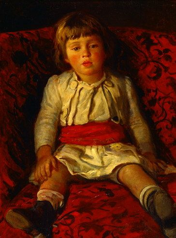 Portrait of Nikolay Ge, the Artists Grandson - Nikolai Ge