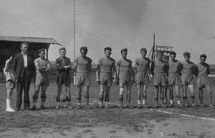 Football side from the South-Eastern Polish town of Lubaczów, late 1950s