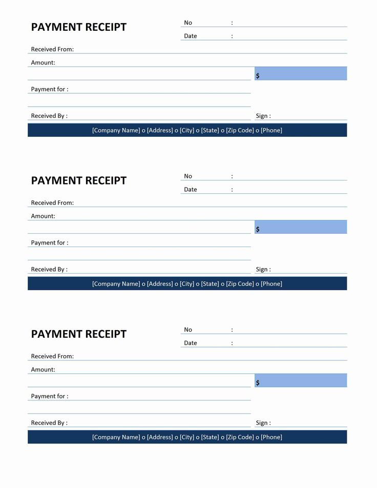 Best 25 Receipt template ideas – Payment Receipts
