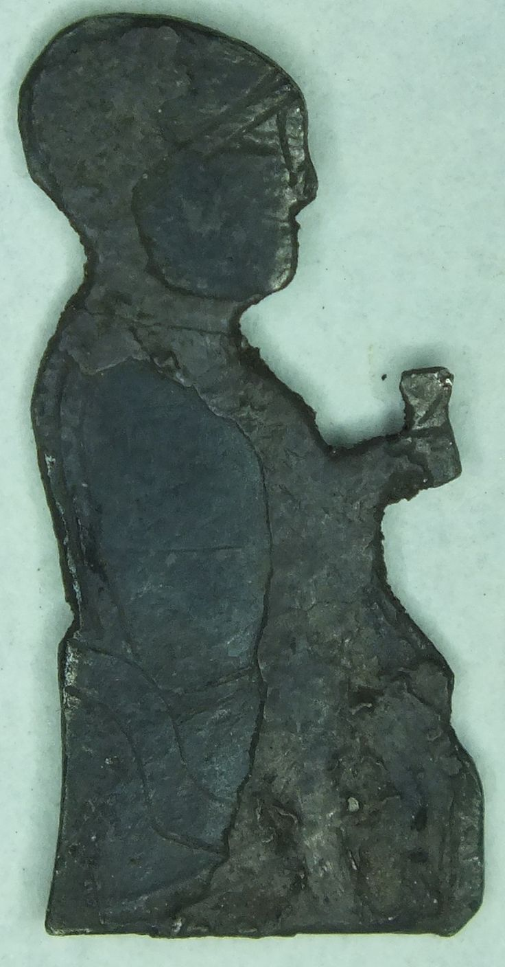 Viking amulet. Valkyrie meets with wine dead warriors . 10th century.
