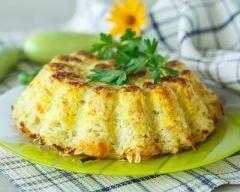 Simple et sympa ! On peut varier les fromages. #Gratin de riz à la #courgette râpée