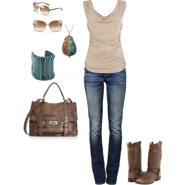 OutfitCowboy Boots, Casual Outfit, Fall Wardrobes, Country Casual, Fashion Style, Clothing, Summer, Casual Classy Spring Style, Fall Outfit