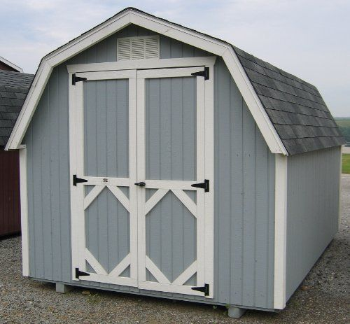 249 best storage shed plans images on pinterest outdoor for Complete barn home kits