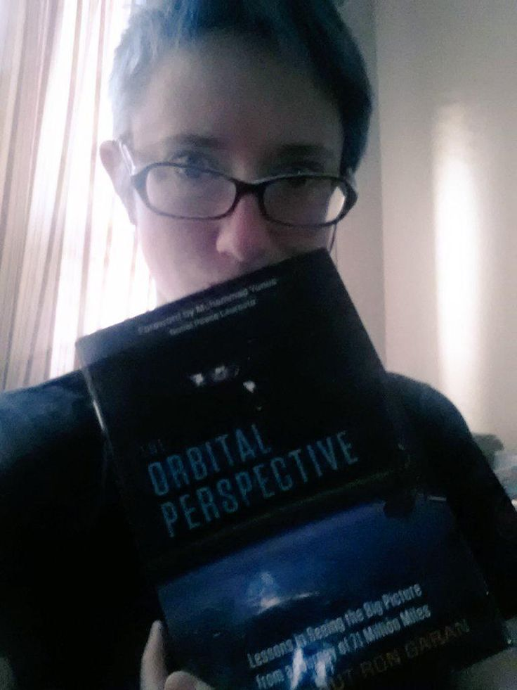 Stayed up too late starting #orbitalperspective, @Astro_Ron's book on systems thinking driven by empathy.