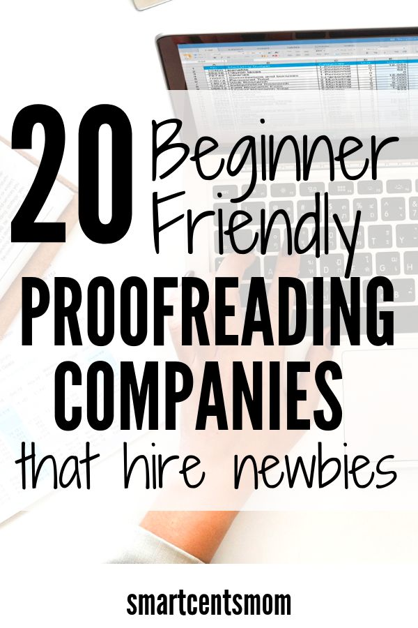 20 Legit Proofreading Companies that Hire Beginners