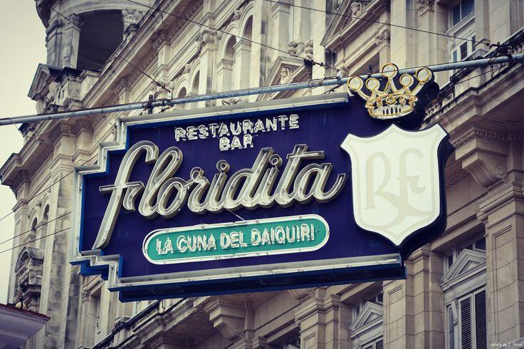 Floridita bar Havana,Cuba 2015