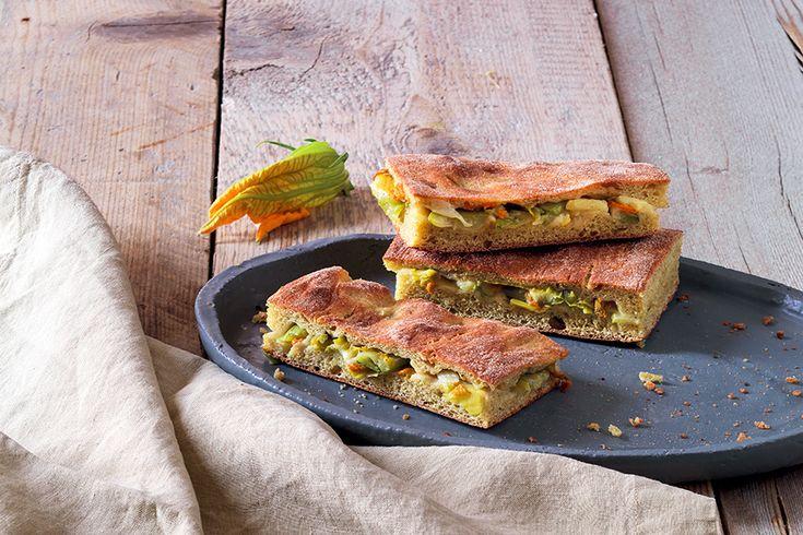 Schiacciata di zucchine la Cucina Italiana
