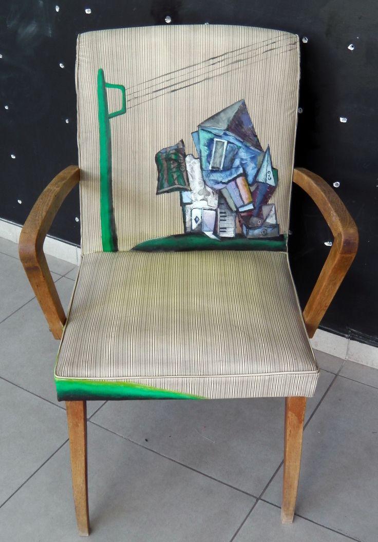 60's armchair