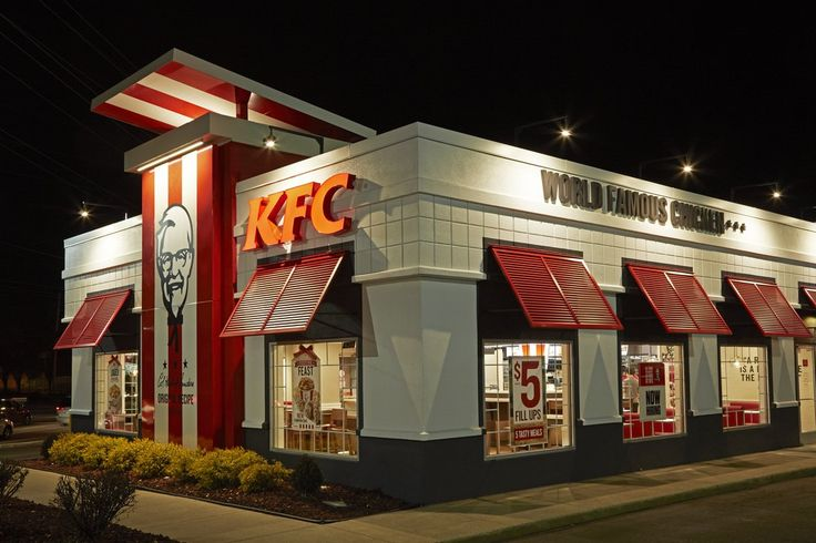 KFC- New Interior, Exterior, and Packaging in honor of Colonel Sanders Return