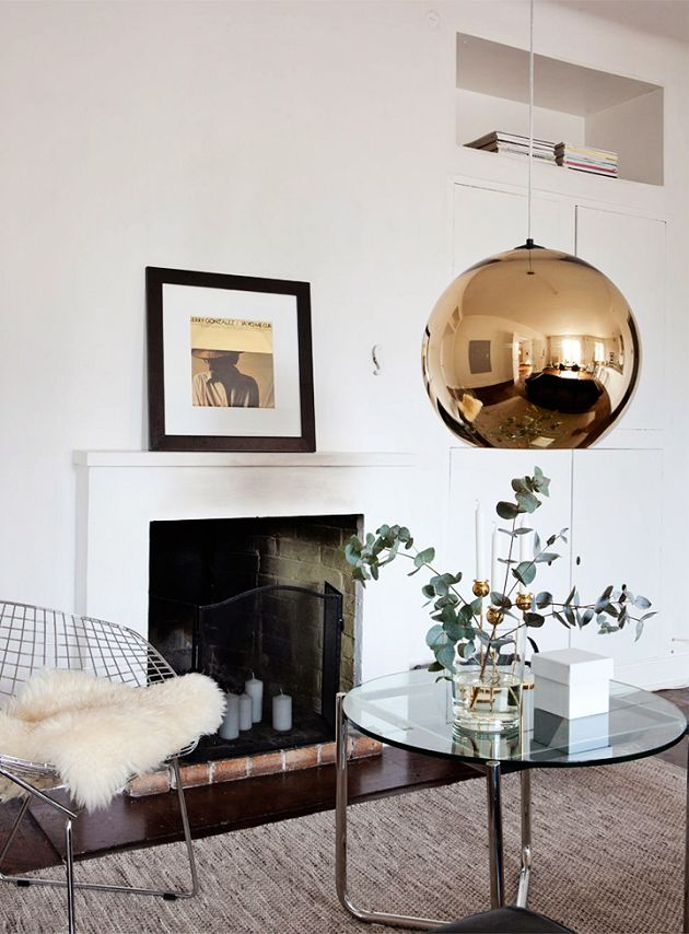 Time for Fashion » Decor Inspiration: A Gold Touch