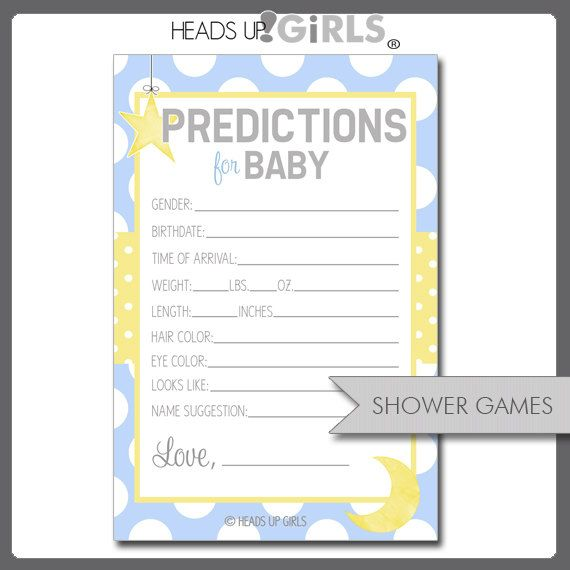 9 best Once in a blue moon baby shower! images on Pinterest - baby shower agenda template