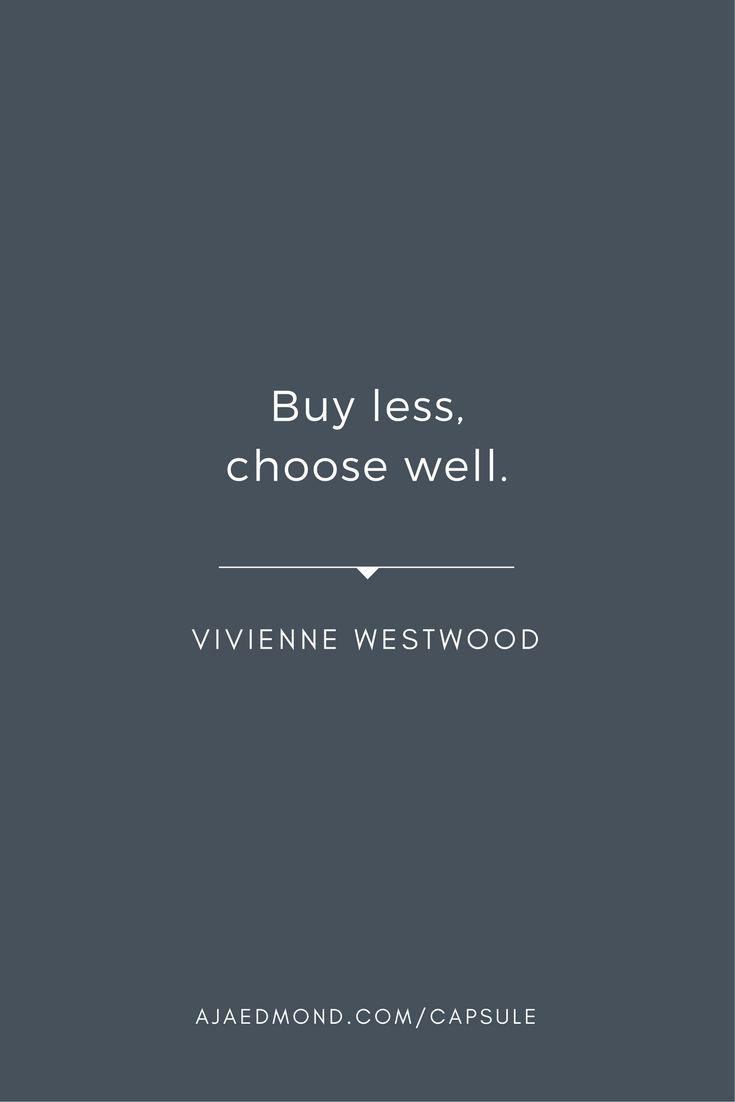 Image result for minimal capsule wardrobe quote