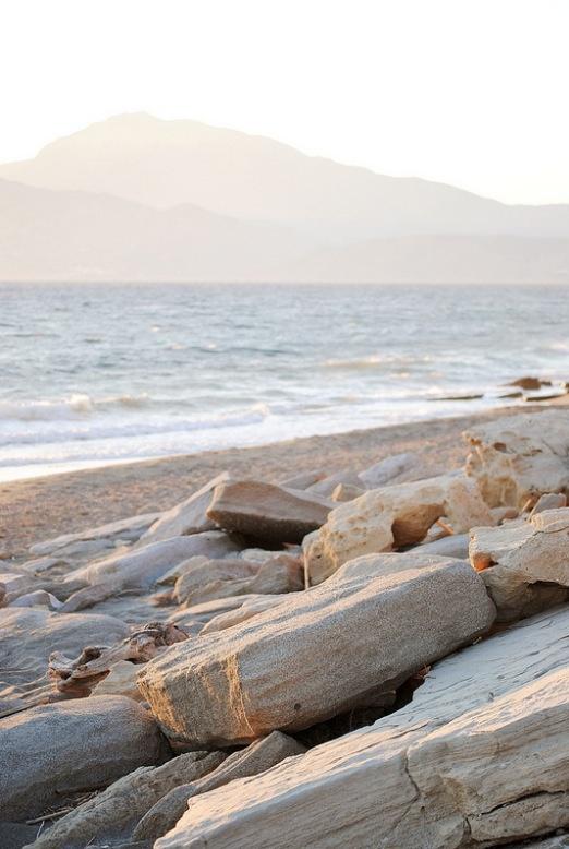 Komos beach, Crete