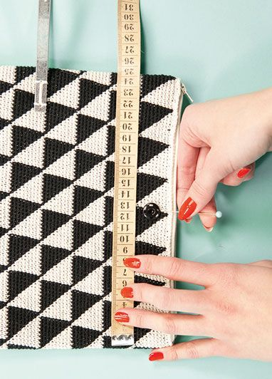 How to make: a modern crochet evening bag - Telegraph