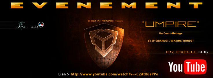 UMPIRE Le Court-Métrage évènement de JP GIRARDOT / Maxime RIONDET disponible sur Youtube