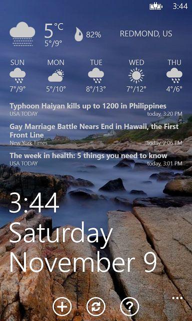 Lockmix - A new lock screen customization app for Windows Phone 8