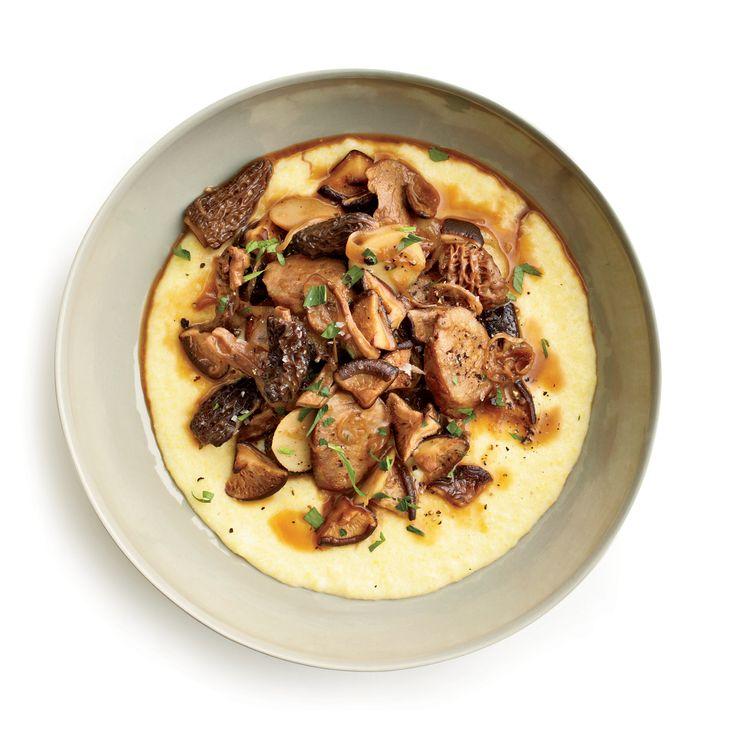 223 best pork images on pinterest cooking recipes pork for Morel mushroom recipes food network