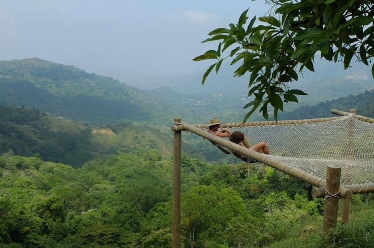 Casa Elemento, Colombia - Nestled in the mountains above Minca, Magdalena, Colombia, the Casa Elemento hostel features a 20-person hammock over a cliff and a swimming pool with a view, and organises daily tours into the surrounding jungle and countryside.
