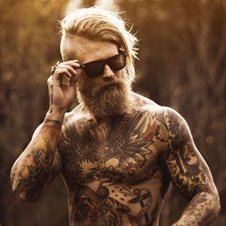 Whew! | 29 Beard And Undercut Combinations That Will Awaken You Sexually