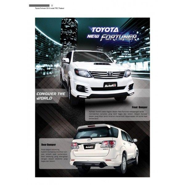 Bodykit Toyota New Fortuner 2014-2015