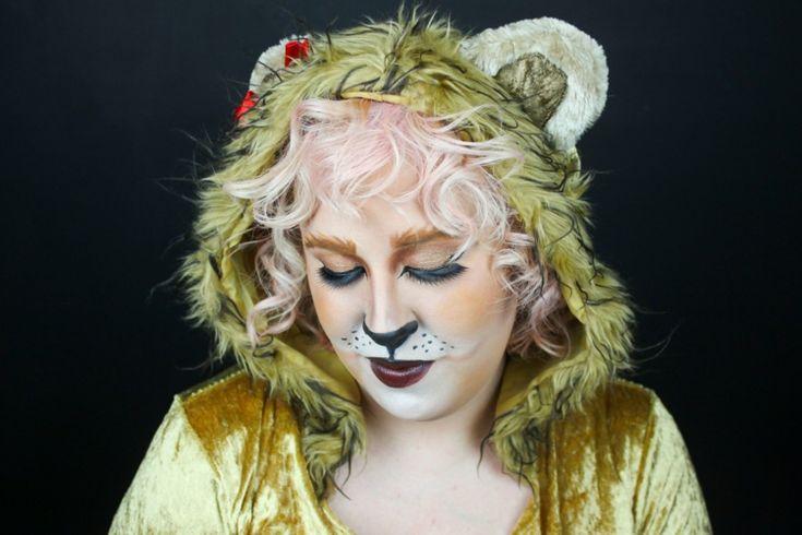 frau löwe schminken kostüm karnevalsbekleidung  #fasching #costume #party
