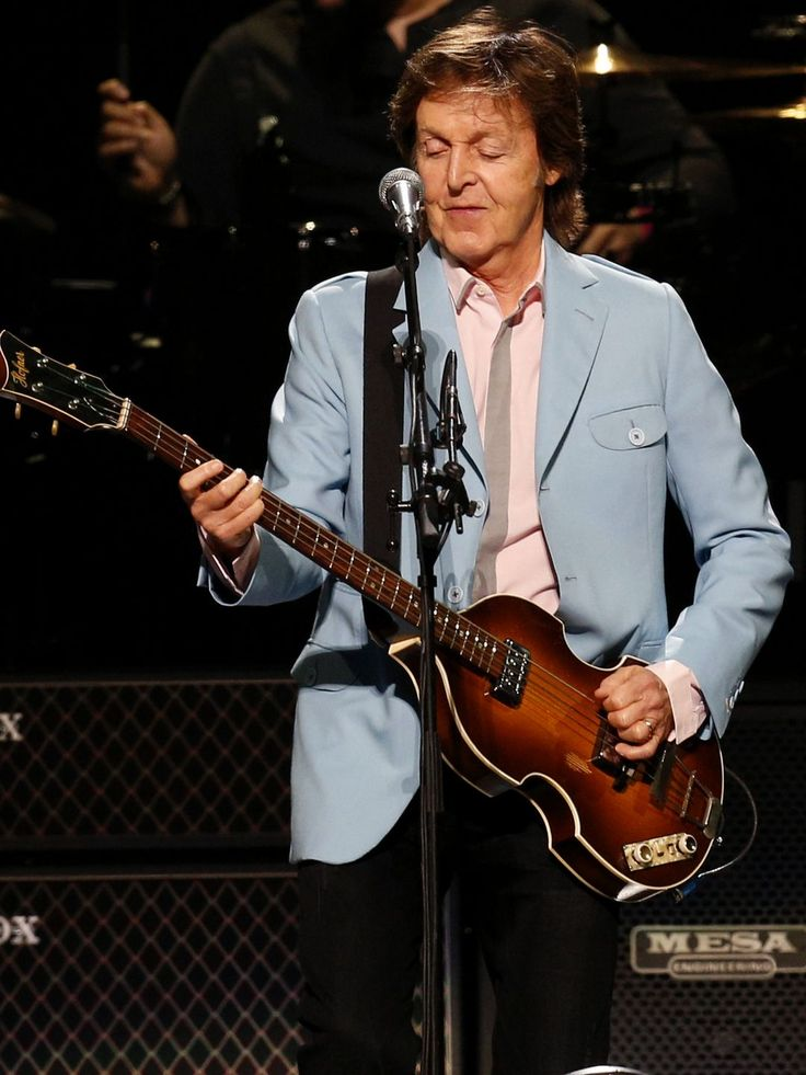 Paul McCartney entertains his fans at the KFC Yum!