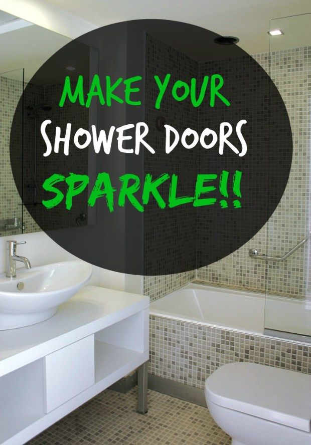 1000 Ideas About Shower Door Cleaning On Pinterest