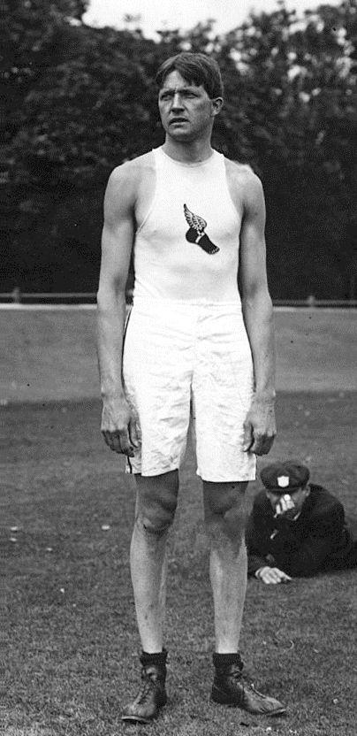 Ray Ewry triple medaillee d'or de saut en hauteur 1900