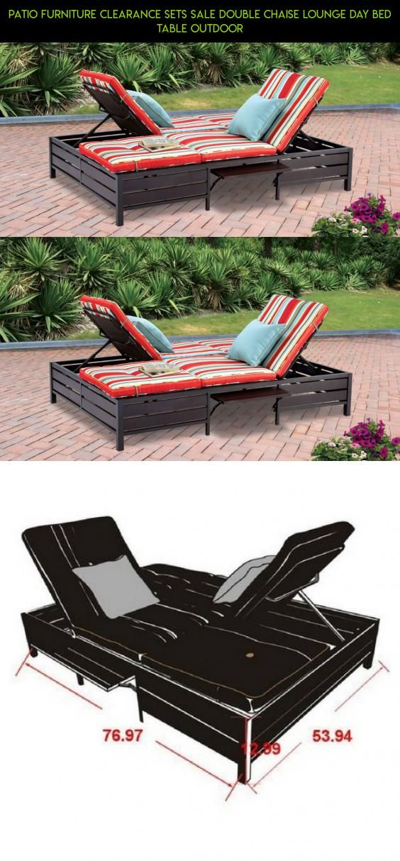 patio furniture clearance sets sale double chaise lounge day bed table outdoor products technology