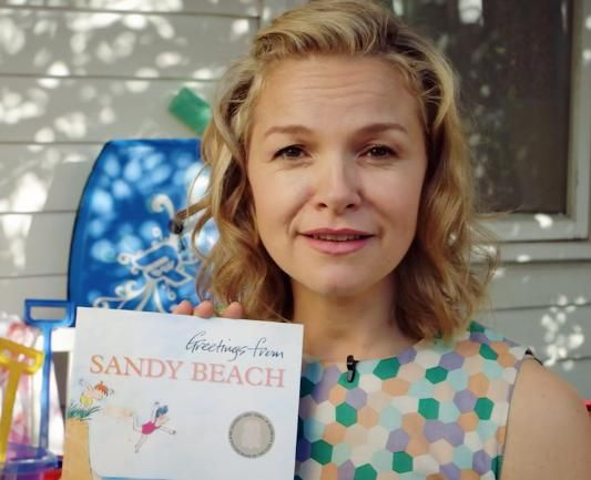 Justine Clarke reads Greetings from Sandy Beach