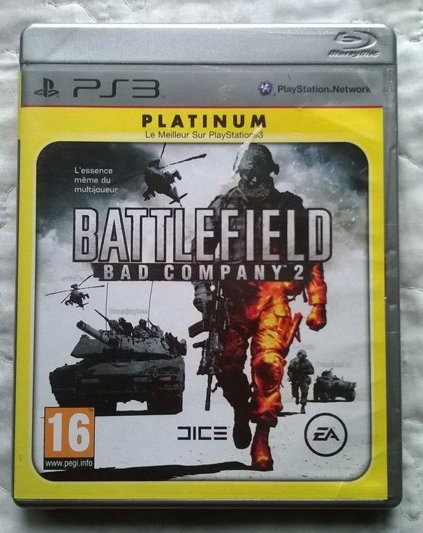 jeu pour  PLAYSTATION 3 - PS3 - BATTLEFIELD 2  - bad company