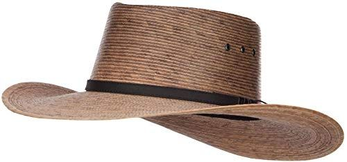 Great for Men's Palm Braid Gambler Hat Fashion Mens Accessories. [$45.99] buytopbrands from top store
