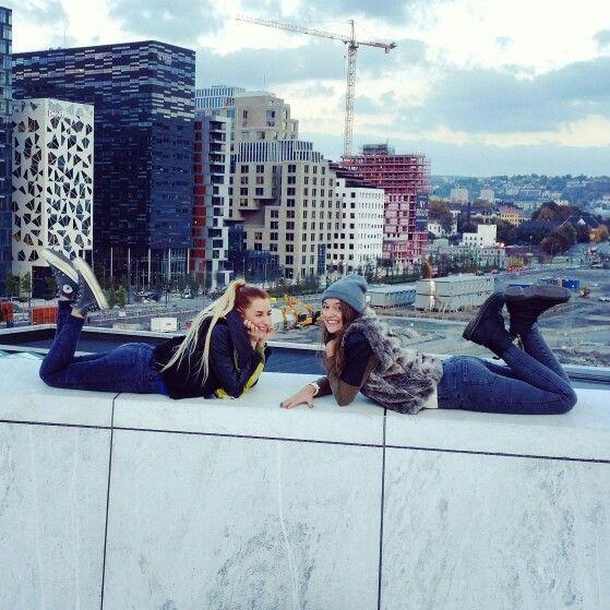 Oslo ♡ with my dear friend