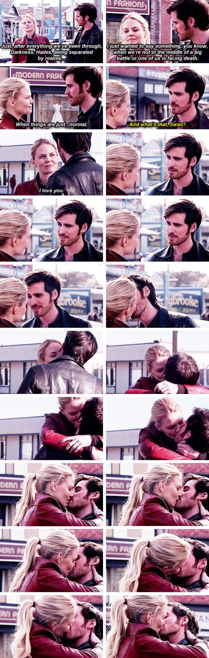"Emma Swan and Killian Jones - 5 * 23 ""An Untold Stories"" #CaptainSwan"