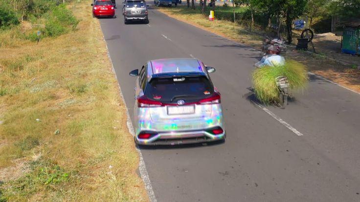 Toyota Yaris TRD 20182019 Yogyakarta Holographic wrap