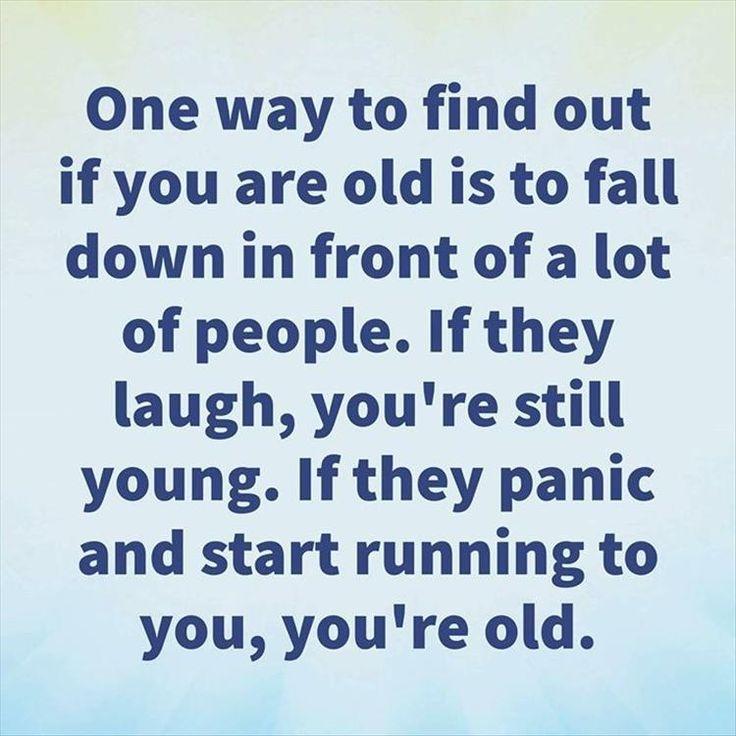 Sucks that everyone is nervous... #oldlady