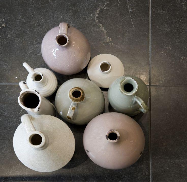 Vases and bottles