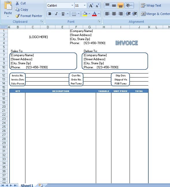 Generic Invoice is commonly known to be an invoice template and is - generic invoice